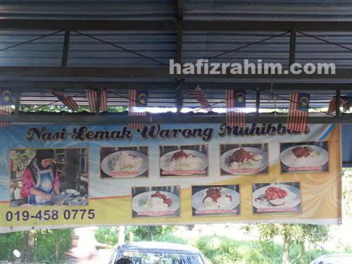 nasi lemak warung muhibbah3