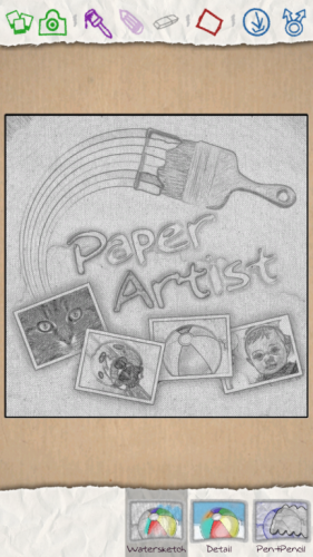 Jellybean 4.1.2_paper artist