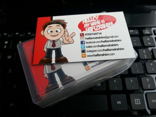 Blogger namecard