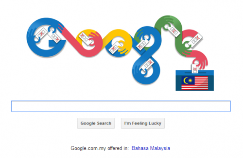 Google Doodle PRU13