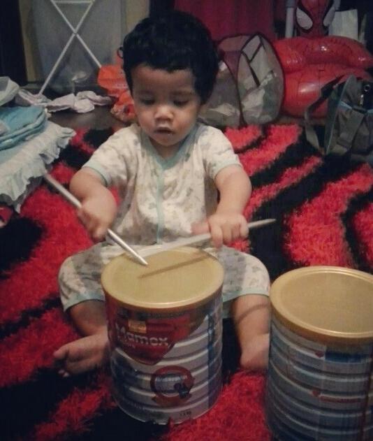 drummer cilik_khair