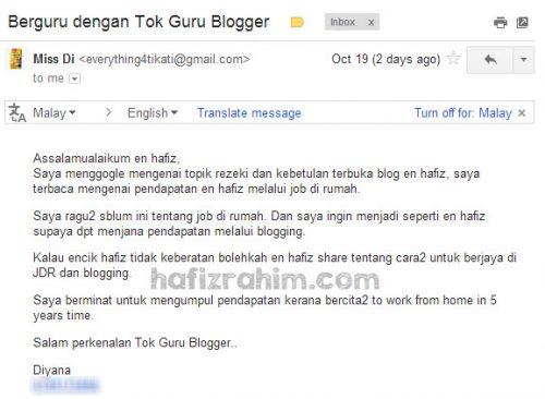 mentor blogger