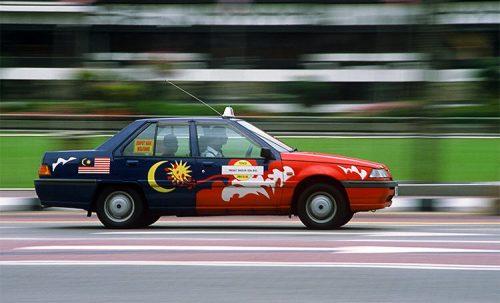 teksi samseng