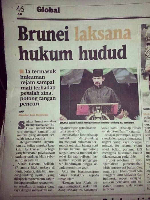 Hukum Hudud Di Brunei