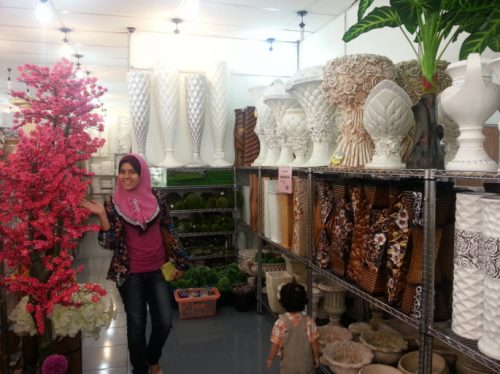 kedai bunga nilai 3