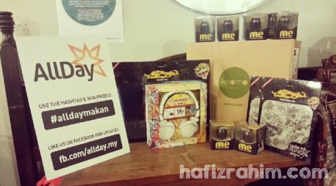 AllDayMakan lucky draw prize
