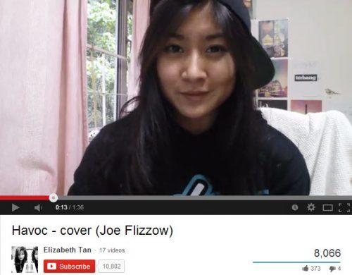 Elizabeth Tan_Havoc by Joe Flizzow_Youtube star