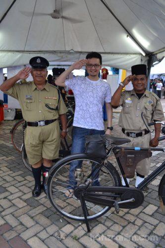 Danga Bay_Creative Fest-Kostum polis dulu