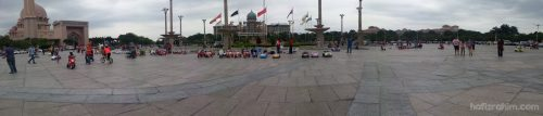 Panorama view Dataran Masjid Putra Putrajaya - Klik untuk besarkan