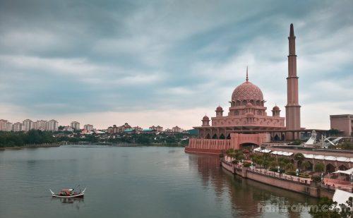 Masjid Putrajaya - Klik untuk besarkan