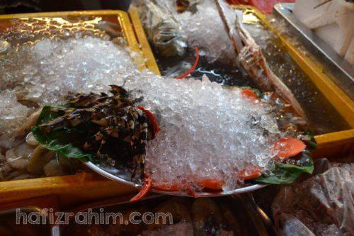 Senibong-lobster udang kara