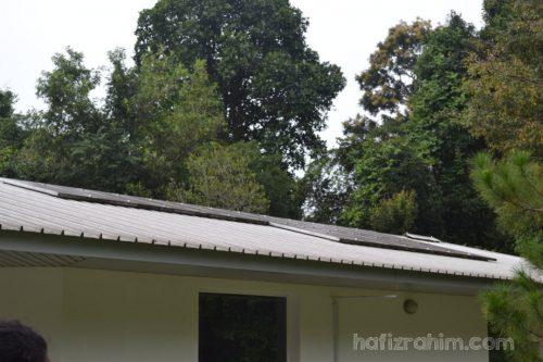 Solar PV diatas atap rumah-cekap tenaga hafiz rahim
