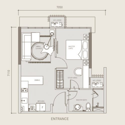 Eclipse Residence-Uno Suites