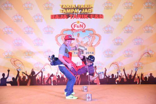 Skill hebat - Cabaran Raja Tarik F&N 2014