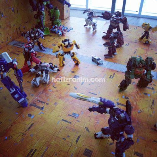 koleksi robot transformers