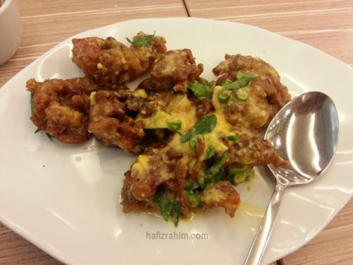 Homst Recipe-Salted Egg Soft Shell Crab