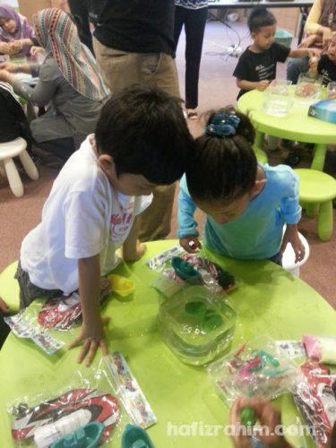 Little Scientists-plastisin terapung
