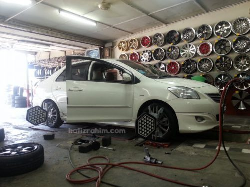 adjust alignment vios