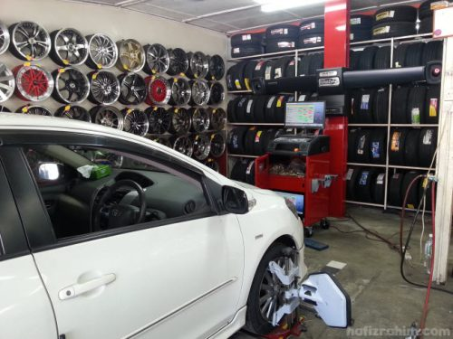 alignment kereta vios