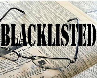 Senarai hitam pinjaman pelajaran