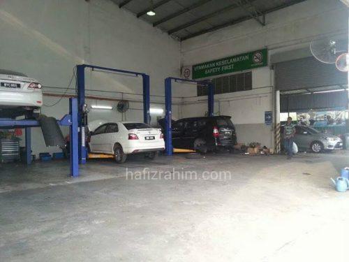 Service bay Toyota SC Bangi