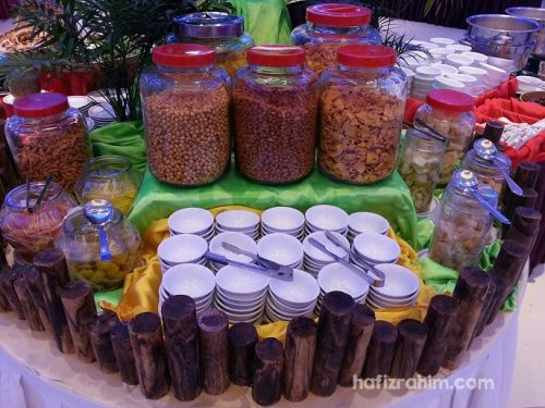 kacang iftar Eden Catering
