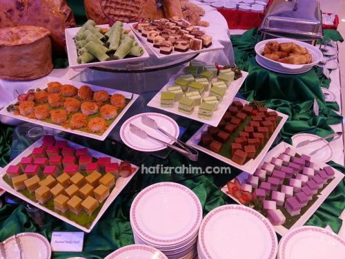 kuih bufet ramadhan eden catering