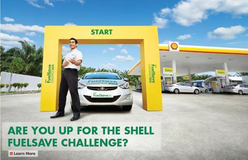 Shell FuelSave Challenge 2014-Fahrin