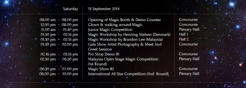 Magic Fest Putrajaya-2nd day