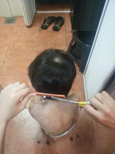Potong rambut anak