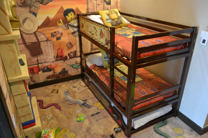 Adventure Room Legoland Double Decker Bed