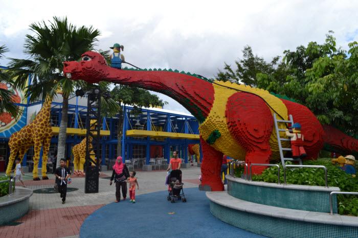 Lego dinosour