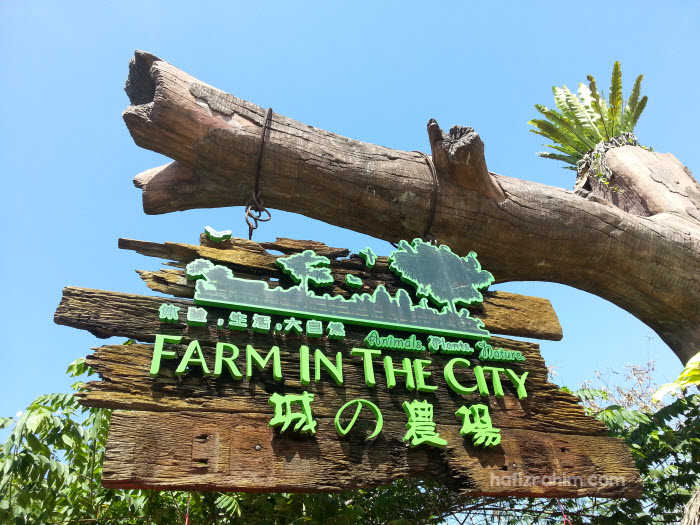 Seronoknya Dapat Ke Farm In The City Hafiz Rahim