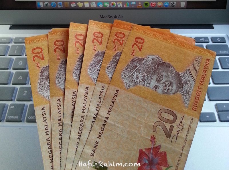 Tips simpan duit