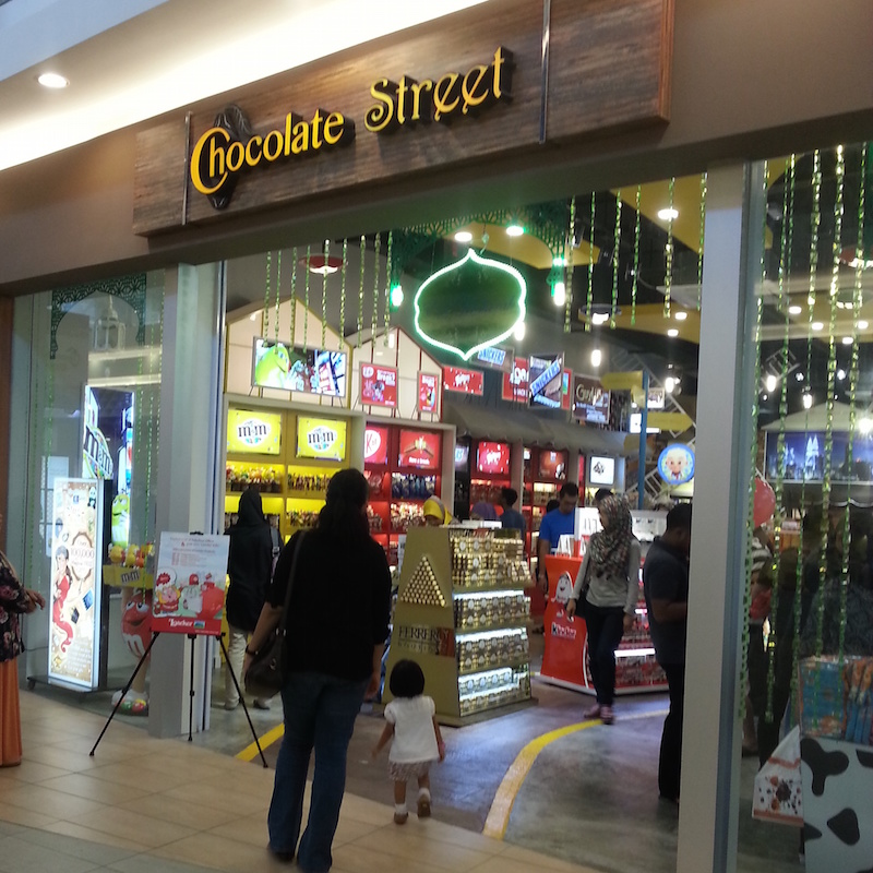 Chocolate Street Mitsui Outlet Park