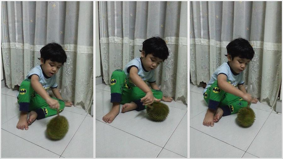 Khair vs durian kecil