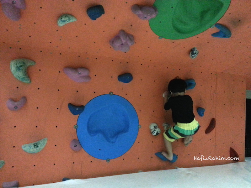 Khair Wall Climbing Putrajaya Precint 5