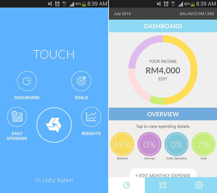 Applikasi TouchStyle Bank Rakyat