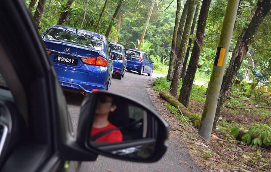 Honda trip to Gopeng Riverbug Asia