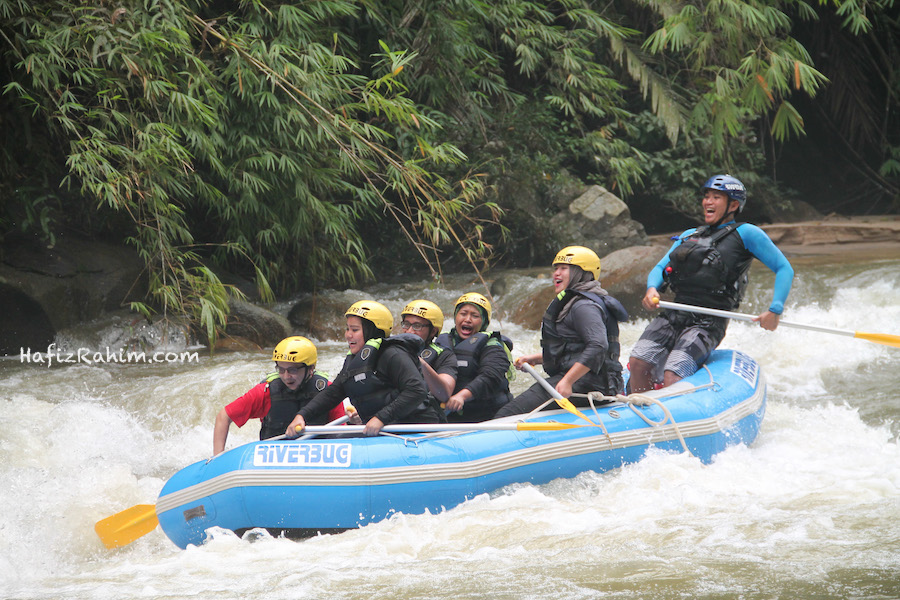 Level 3 water rafting