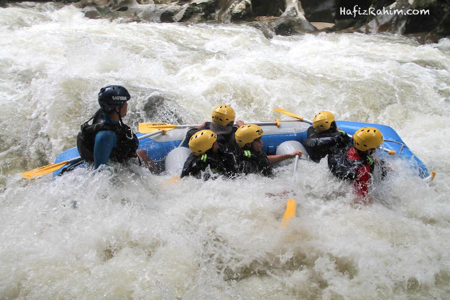 Main water rafting