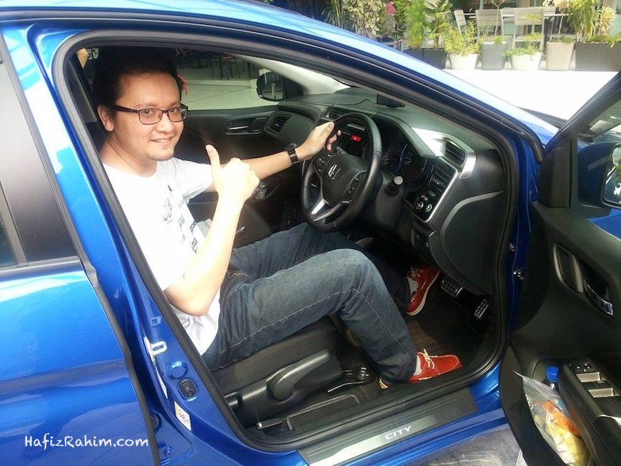 Test drive Honda City