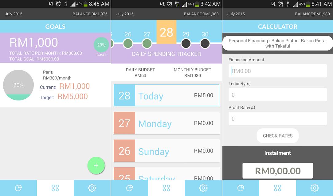 TouchStyle - Applikasi Bank Rakyat