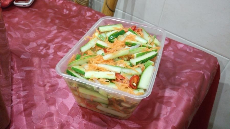 Acar nasi dagang Terengganu