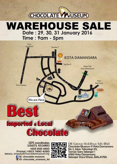 Warehouse Sale Chocolate Museum