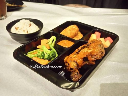 Ayam percik lunch Tray