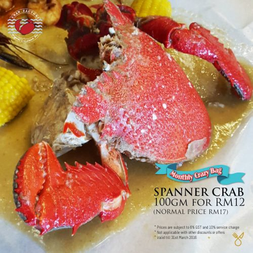 Spanner Crab Factory