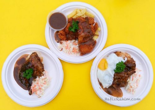 Granny Roast Chick's, Borak Chick's Chop & Borak Lamb Chop