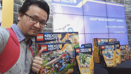 Hafiz Rahim-Launching LEGO Nexo Knights
