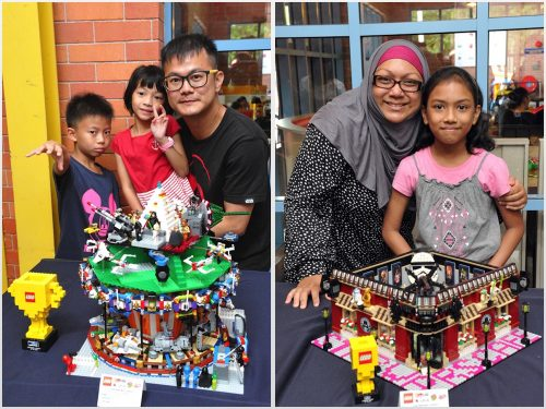 2nd Yong Meng Kwong - Star Wars Carousel - Family Category & 4th Siti Arfah and Noreez Azmirah - Star Wars Cafe - Family Category